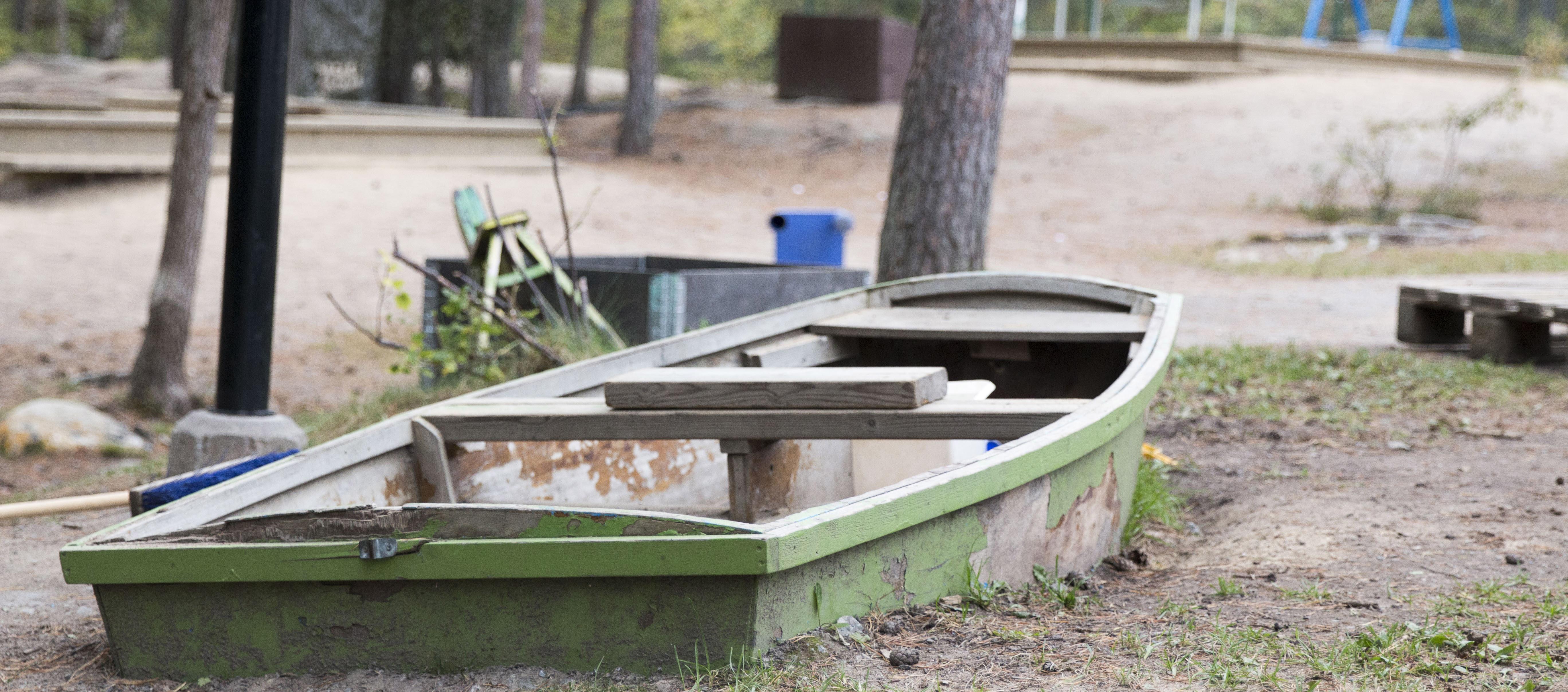 Rensättrra – Båt